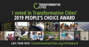 Transformative Cities People's Choice Award